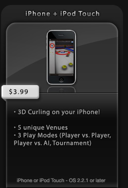 BUY Age of Curling on the iPhone AppStore